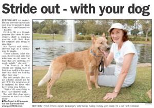 Audrey and Cinnabar at Centenary Lakes